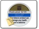 Medicated No.99 Snuff Large Tin