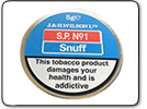 SP No.1 Snuff Tap Tin