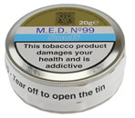M.E.D No.99 Snuff Large Tin