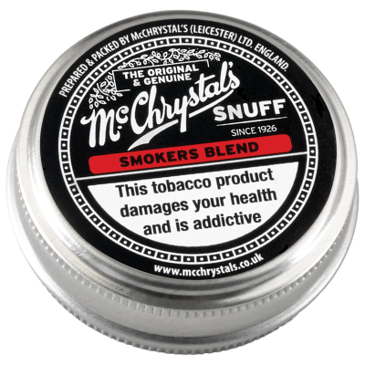 McChrystals Smokers Blend snuff