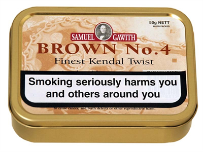 SG Brown No.4 Twist Tobacco 50g